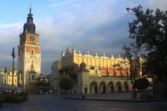 październik w Krakowie