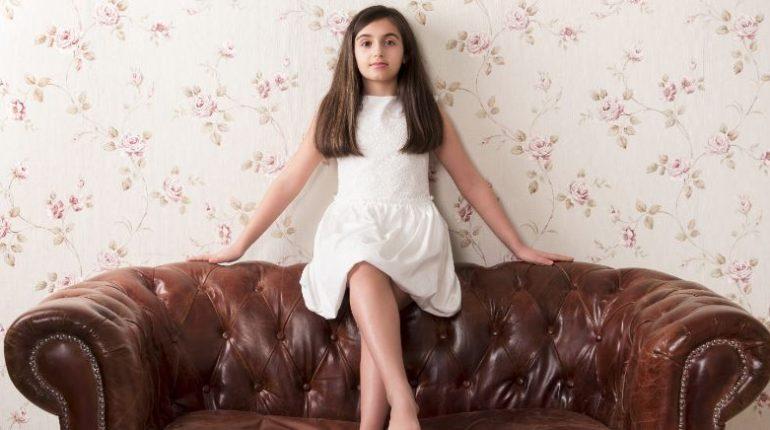 Sofa Chesterfield w salonie