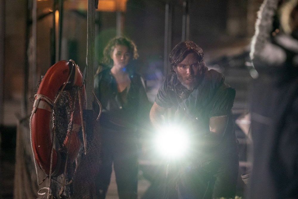 Cillian Murphy i Millicent Simmonds - Ciche miejsce 2 film